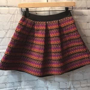 Forever 21 Fiesta Colored Skirt with pleat